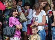 Поток беженцев не уменьшается